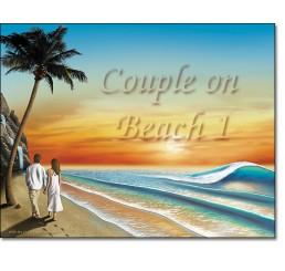 Couple On Beach 1