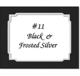 Mat 11 - Black / Silver