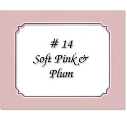 Mat 14 - Soft Pink / Plum