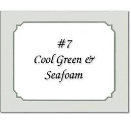Mat 7 - Cool Green / Seafoam Green