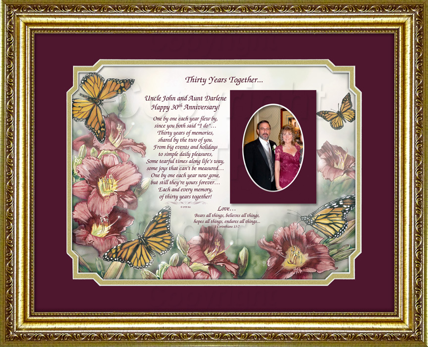 Personalized Anniversary Gift with Photo