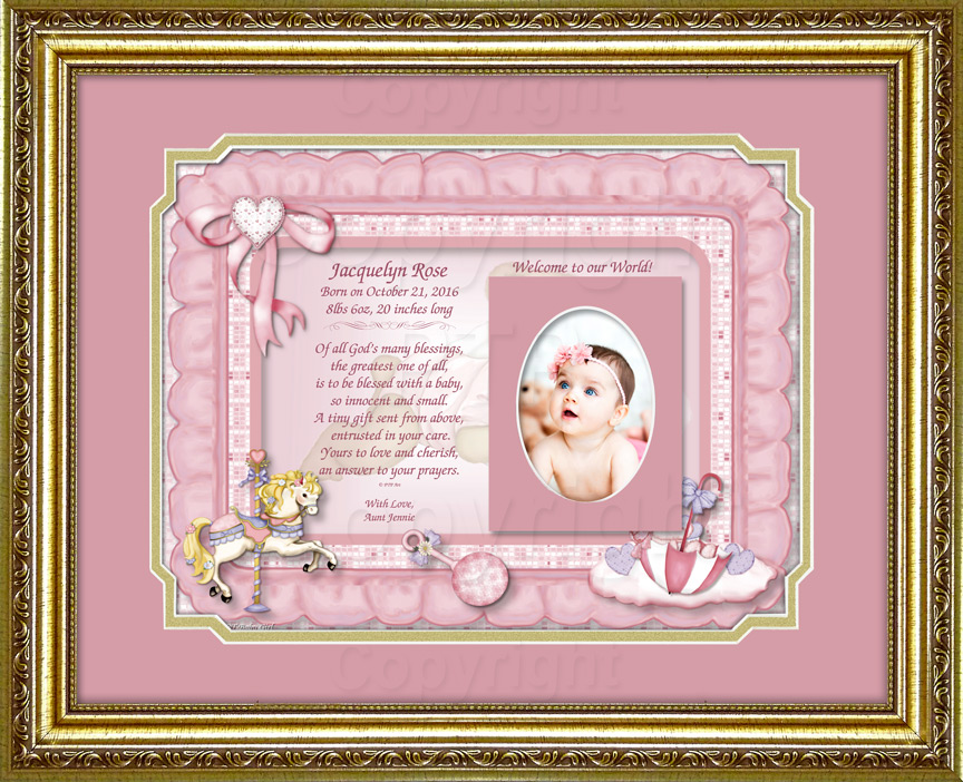 A Personalized Baby Girl Gift