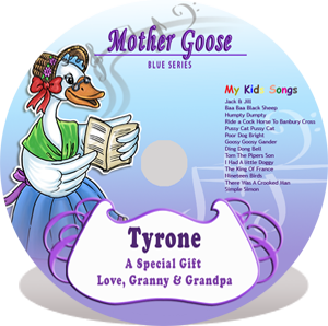 Mother Goose Blue Series