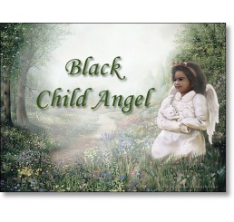 Black Child Angel