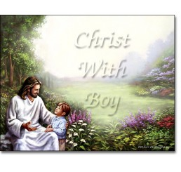 Christ With Boy