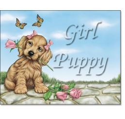 Girl Puppy