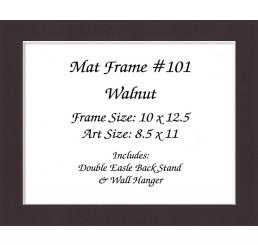 Mat Frame 101 - Walnut