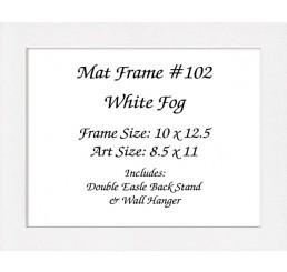 Mat Frame 102 - White Fog