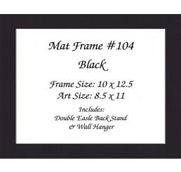 Mat Frame 104 - Black