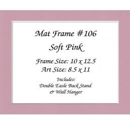 Mat Frame 106 - Soft Pink