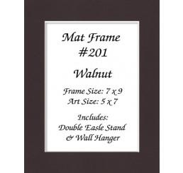 Mat Frame 201 - Walnut