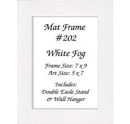 Mat Frame 202 - White Fog