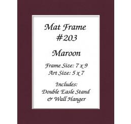 Mat Frame 203 - Maroon