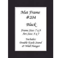 Mat Frame 204 - Black