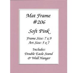 Mat Frame 206 - Soft Pink