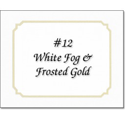 Mat 12 - White Fog / Gold