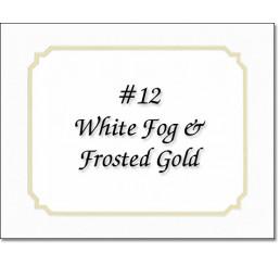 Mat 12 - White Fog / Gold