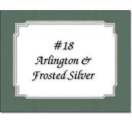 Mat 18 - Arlington / Frosted Silver
