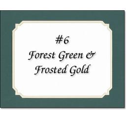 Mat 6 - Forest Green / Gold