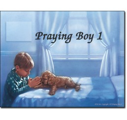Praying Boy 1