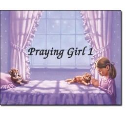Praying Girl 1