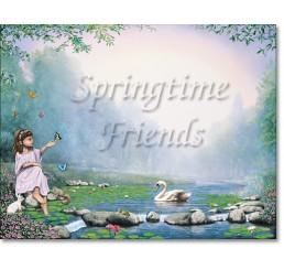 Springtime Friends