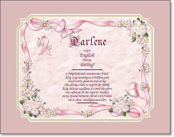 Gifts on Art Sample Gift Pink Bow