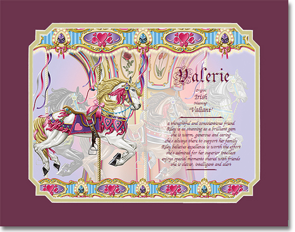 Gifts on Art Sample Gift Carousel Horse
