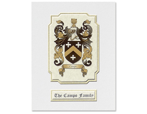 Sample Coat of Arms Gift